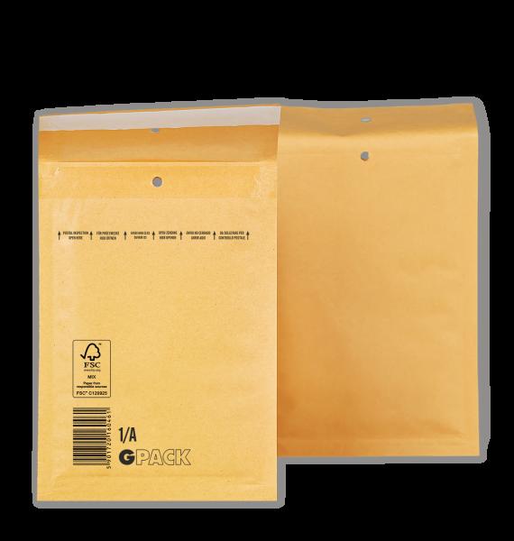 1 Palette Luftpolsterumschläge A1 (1/A) braun