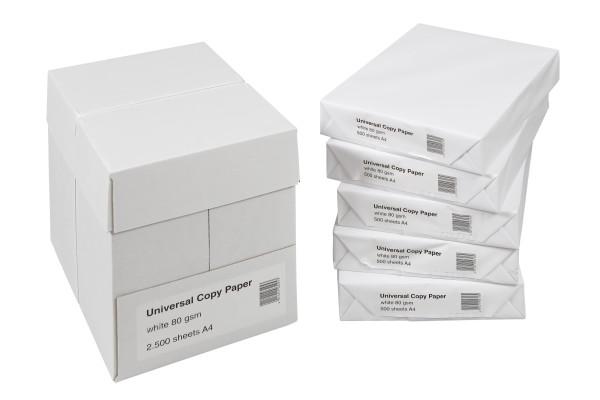 500 Blatt Drucker- und Kopierpapier DIN A4 weiss 80g/m2