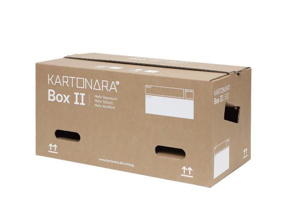 180 Stück Kartonara Box II Umzugskarton Profi, 47 Liter