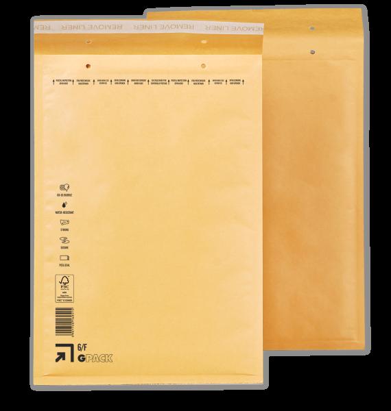 1 Palette Luftpolsterumschläge F6 (6/F) braun