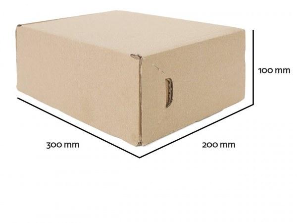 Sicherheitsverpackung 300x200x100mm