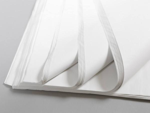 Seidenpapier 50 x 75 cm weiß