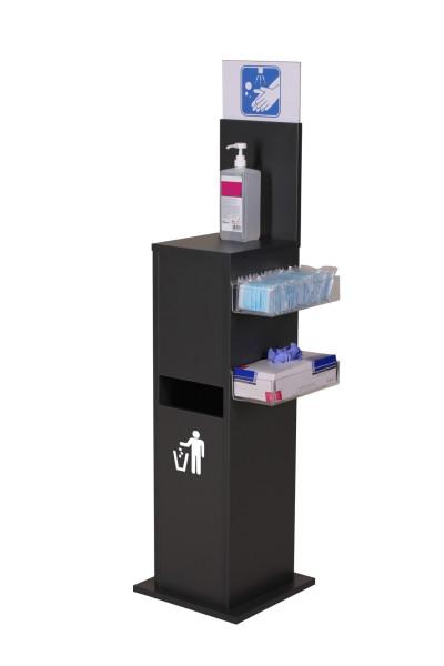 Hygiene Station für Flaschen (anthrazit)
