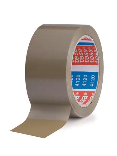 Tesa 4120 PVC-Klebeband 66 m x 50 mm braun
