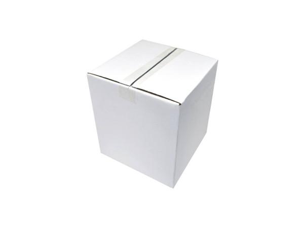 Faltkarton 260x260x290 mm weiß (2-wellig)