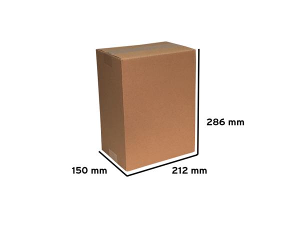 Faltkarton 212x150x286mm (BE-Welle)