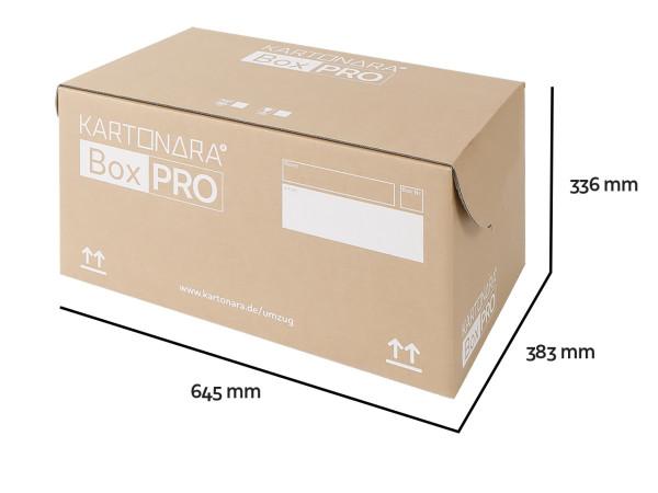 Umzugskarton KARTONARA Box PRO (Automatikboden)