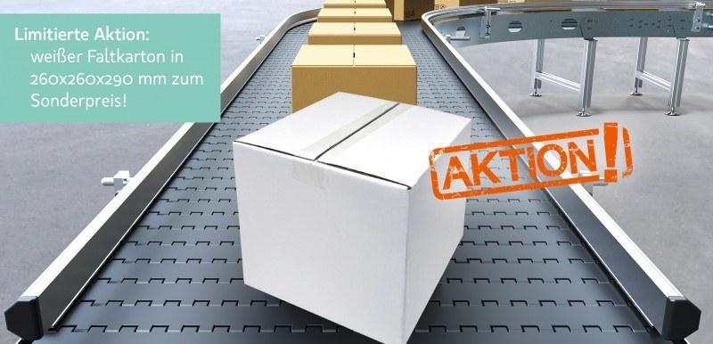 Sonderangebot Karton weiß