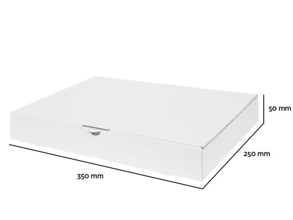 1 Palette Maxibriefe 350x250x50 mm weiß