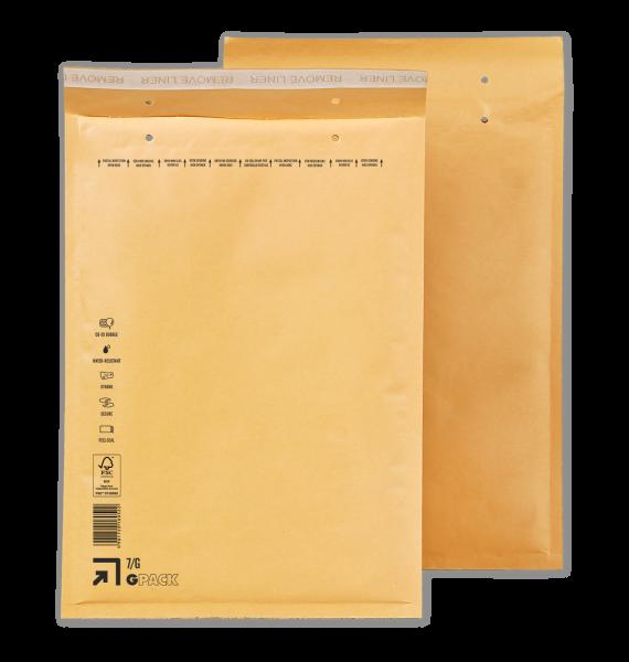 1 Palette Luftpolsterumschläge G7 (7/G) braun