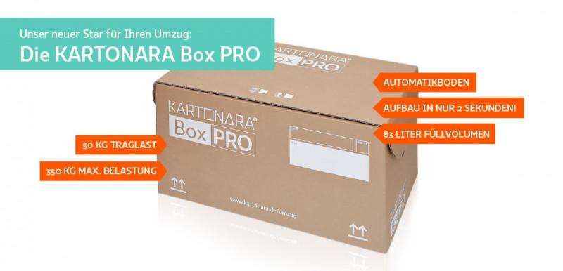 Die KARTONARA Box PRO
