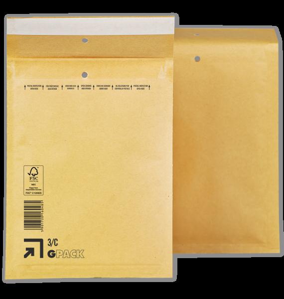 1 Palette Luftpolsterumschläge C3 (3/C) braun